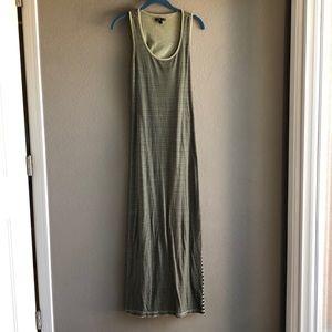 Vans keyhole maxi dress